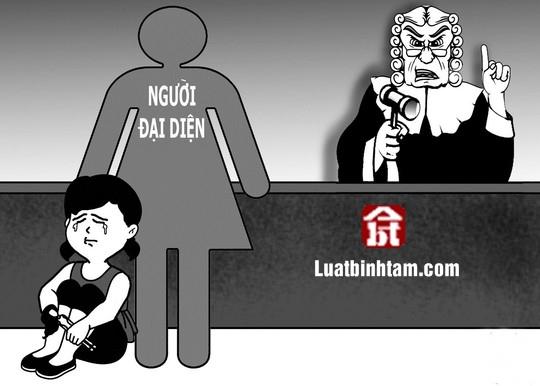 Người đại diện quy định trong luật dân sự
