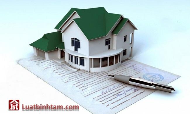 Hợp đồng về QSD đất và tài sản gắn liền với đất