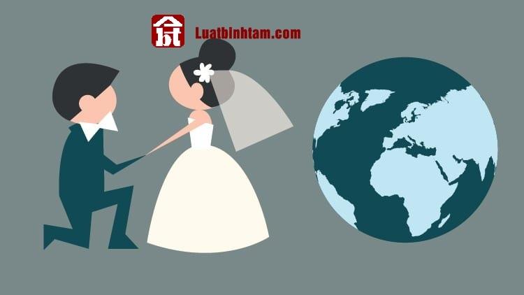 Hôn nhân có yếu tố nước ngoài quy định trong luật hôn nhân gia đình
