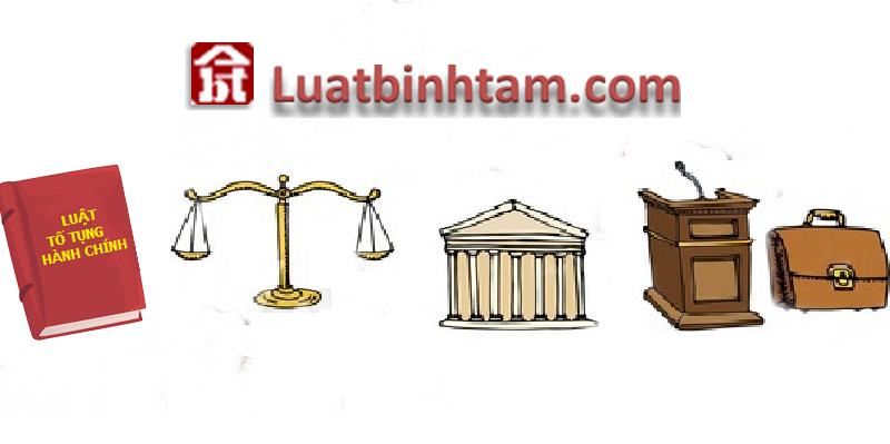 Luật tố tụng hành chính quy định thủ tục giải quyết vụ án hành chính