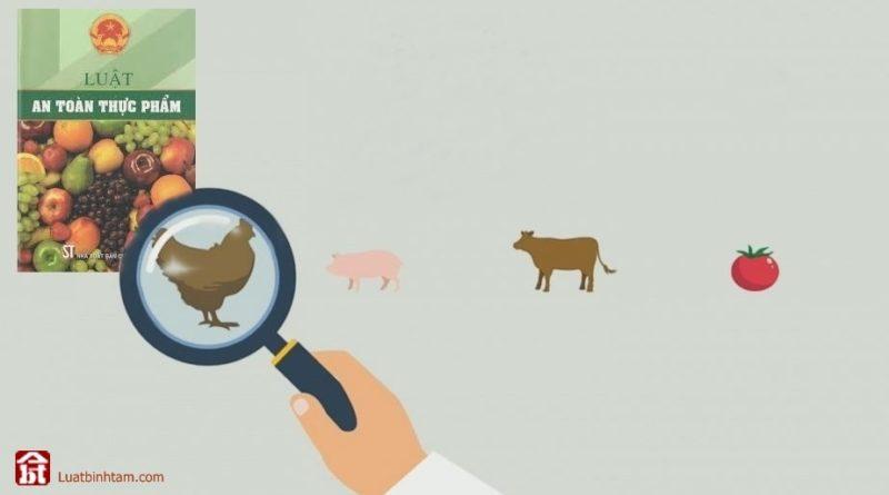 Luật an toàn thực phẩm, tra cứu và tải văn bản luật