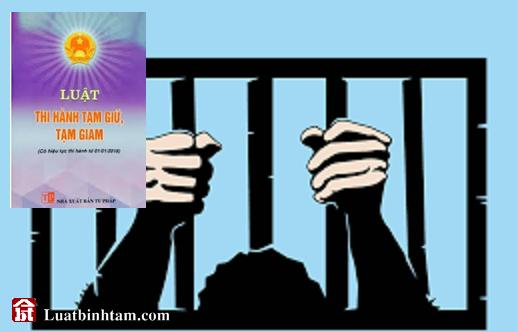 Luật thi hành tạm giữ, tạm giam - tra cứu và tải văn bản luật