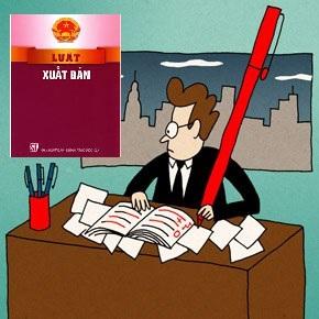 Luật xuất bản quy định tổ chức hoạt động xuất bản