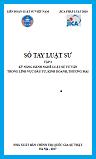 Sổ tay luật sư - tập 3
