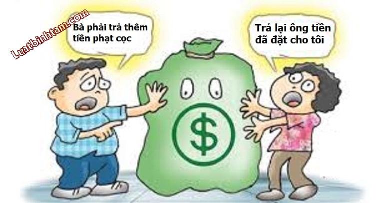 Xử lý tiền đặt cọc khi giao dịch bất thành