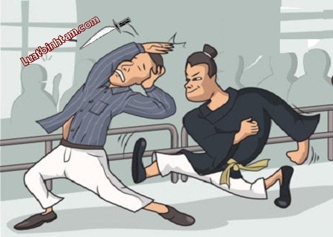 Đánh người để tự vệ có bị xử phạt