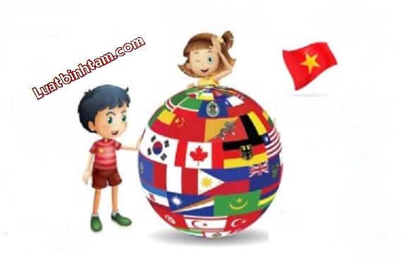 Thủ tục nhập khẩu con sinh ở nước ngoài